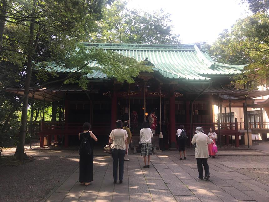 神社 赤坂 氷川